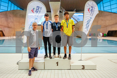 Presentation 4 1905056350 - ASA London Region London Regional Summer Championships 2019 2019 on May 05, 2019 at London Aquatics Centre, Olympic Park, London, E20 2ZQ, London. Photo: Ben Davidson, www.bendavidsonphotography.com