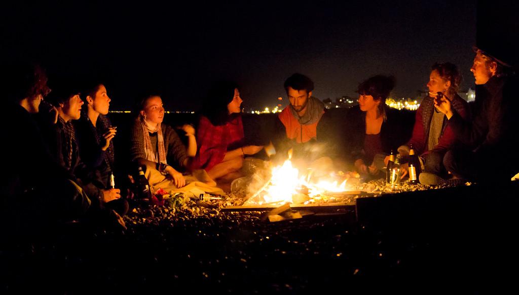 Brighton Beach Gathering