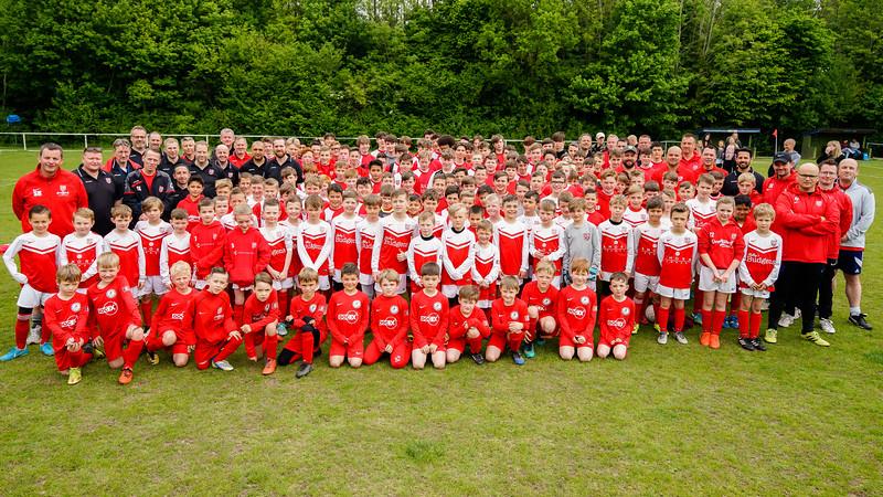 Roffey Robins Atletico Roffey Robins Day on May 12, 2018 at Roffey Robins Football Club, Horsham. Photo: Ben Davidson, www.bendavidsonphotography.com