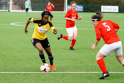 Crawley Wasps vs Jersey Ladies on March 25, 2018 at Steyning FC Football Ground, Steyning. Photo: bendavidsonphotography.com