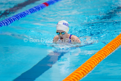 2002090025 -  (200m Breast (G), 200m IM (B), 400m Free (G) Sussex Country Championships (Session 4 AM) on February 09, 2020 at K2, Pease Pottage Hill, RH11 9BQ, Crawley. Photo: Ben Davidson, www.bendavidsonphotography.com