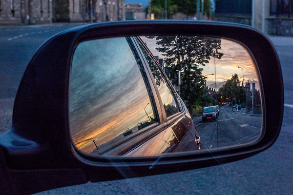 Rear View Sunset