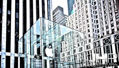 """Apple Store 5th Avenue #8"", NYC, 2013 Print NYC2-0048V2"
