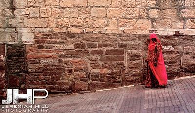 """Stability"", Meherangarh Fort, Jodhpur, Rajasthan, India, 2007 Print IND3920-386V3"