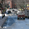 Main Street in Fitchburg just after noon on Tuesday, March 24, 2020. There was cars on main Street but at any give moment it could be empty for 10 to 30 seconds which rarely happens during this time of day. SENTINEL & ENTERPRISE/JOHN LOVE