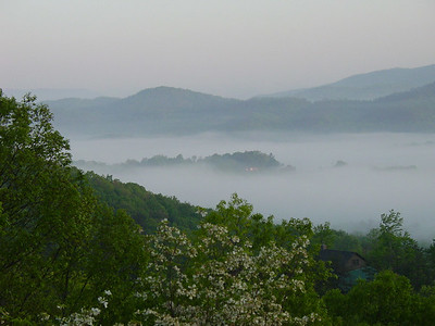 Morning near Green Brier Inn in Tennessee