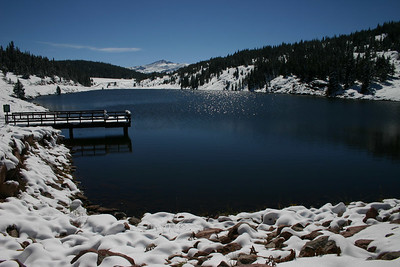 Black Lake  north of Leadville, Colorado