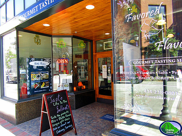 Downtown Lynchburg is growing with shops like Favored Flavors.