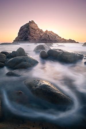 Sugarloaf Rock (calm)