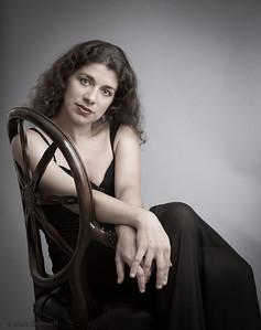 Inna, concert pianist and music professor (New York, 2012)
