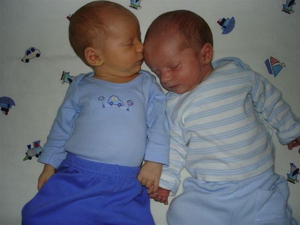 Garrett and Ian