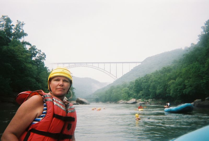 Mom and the bridge