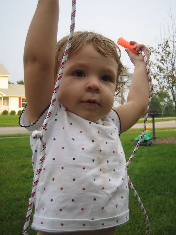Hannah with Jumprope