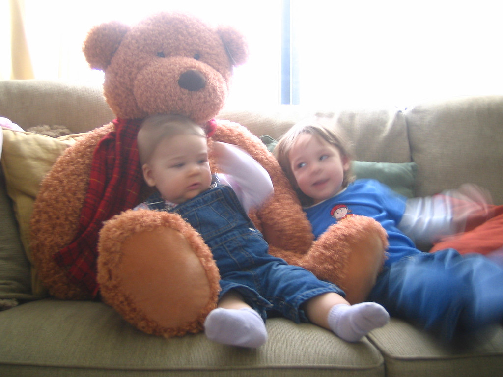 Emily and Hannah 1-19-05