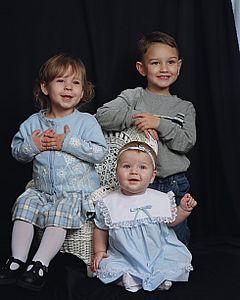 Hannah, Jacob, Emily