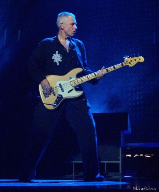 Adam Clayton (during With or Without You?)