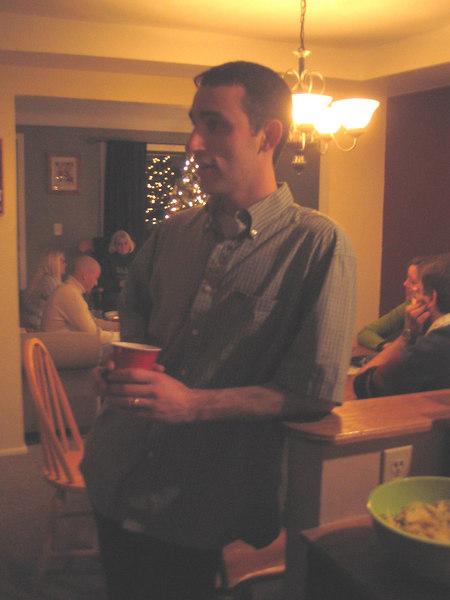 Ron talking to Ryan