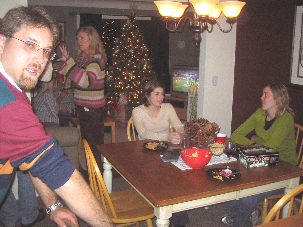 dining room people