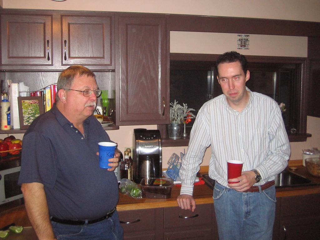 Tony and Keith
