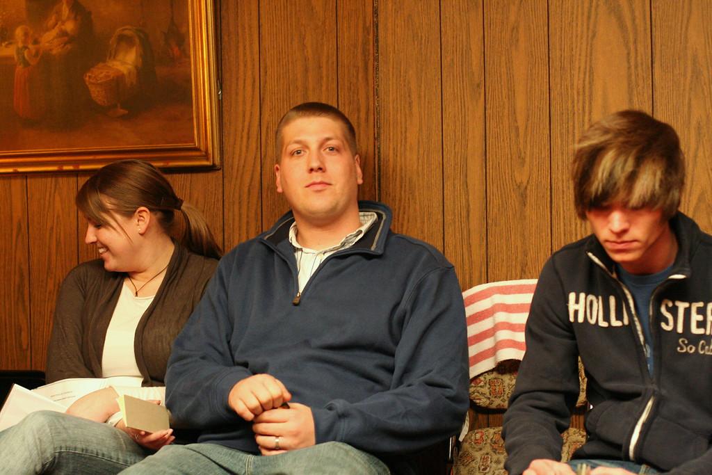 Megan, Jason, Taylor