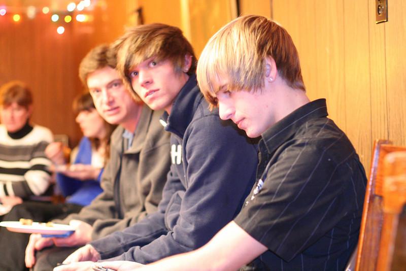 Dan, Taylor, Brady