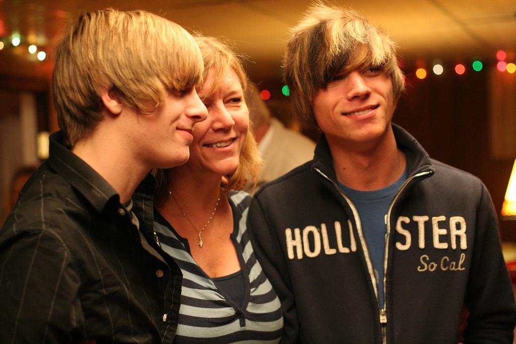 Brady, Ginger, Taylor