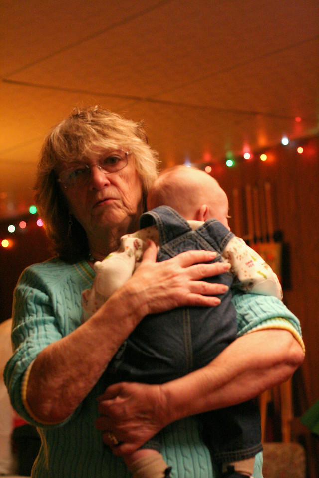Grandma Myrt with Henry