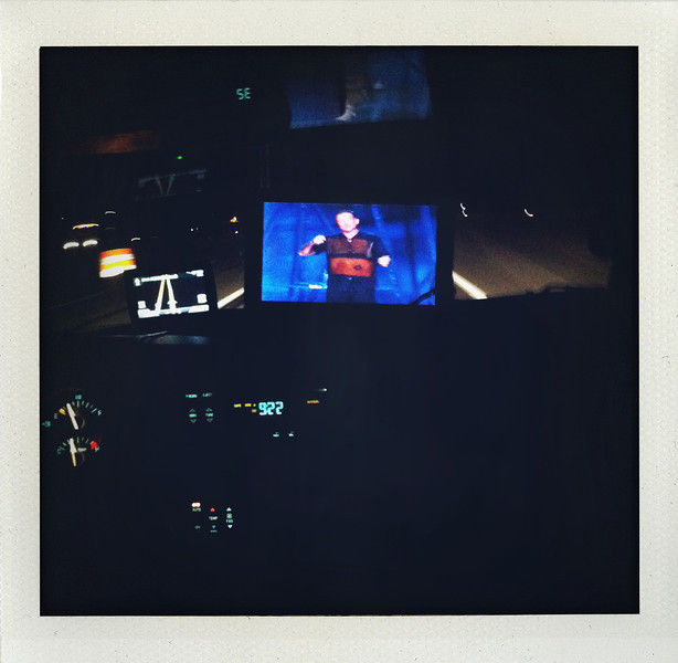 Watching Robin Williams in the car