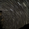 Multiple exposure star trails in Bonita Canyon.