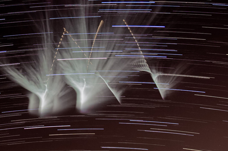 NASA ATREX  missile launch as seen from my house.