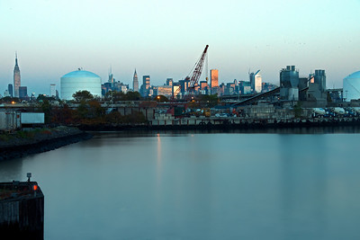 Newtown Creek and Manhattan