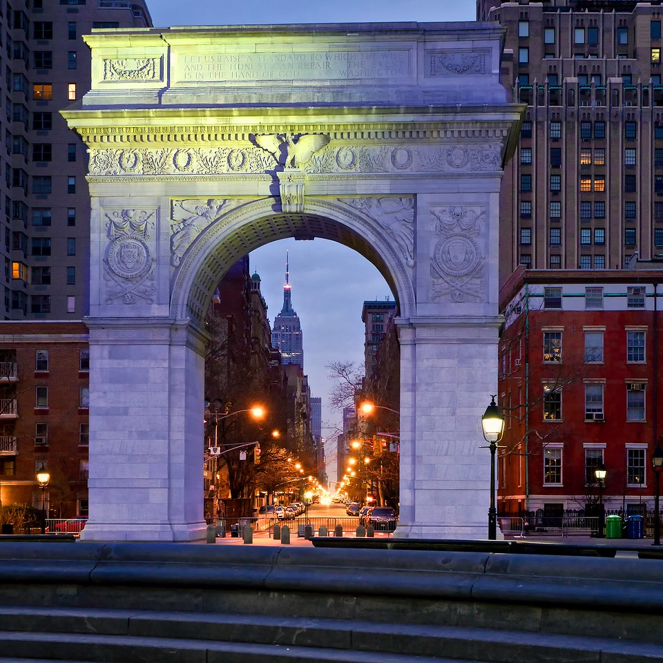 Empire State, Washington Square Arch