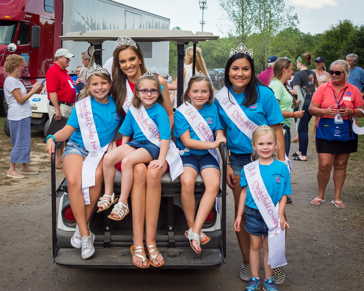 2019 Miss Chesterfield County Fair & 2019 Teen Princess @ Grand Parade