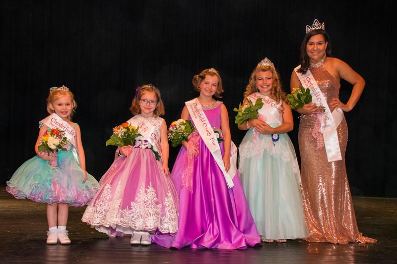 Princess Pageant Winners