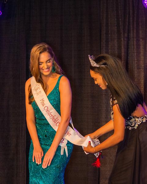 2019 Miss Chesterfield County Fair with Sash