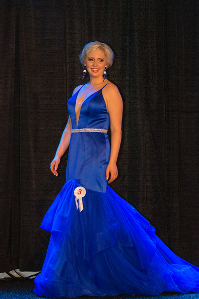 Evening Wear Contestant 3