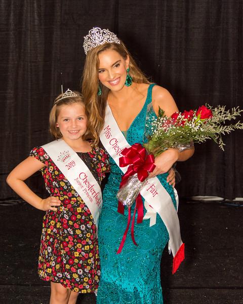 2019 Miss Chesterfield County Fair & 2019 Junior Princess