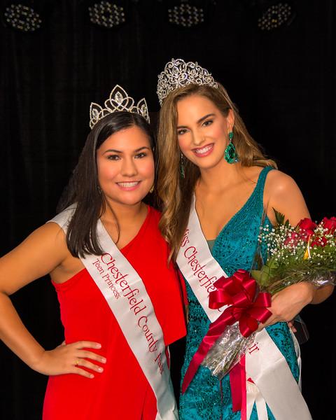 2019 Miss Chesterfield County Fair & 2019 Teen Princess 1