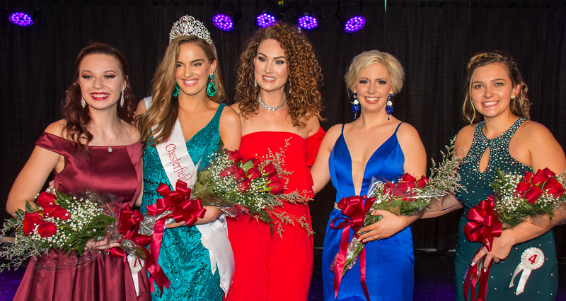 2019 Miss Chesterfield County Fair Contestants & Emcee