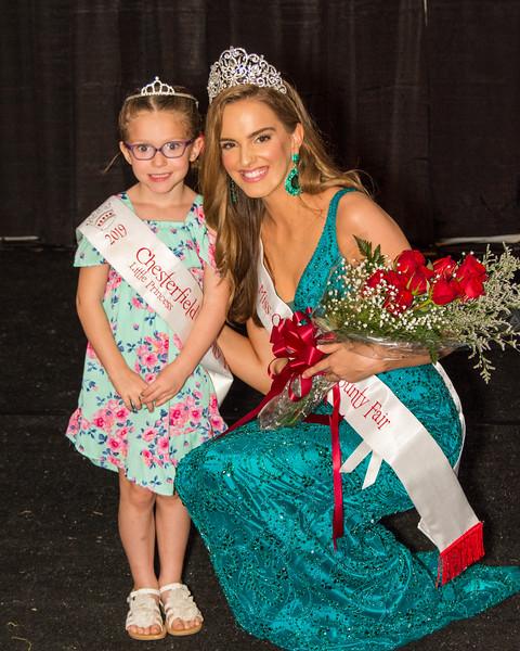 2019 Miss Chesterfield County Fair & 2019 Little Princess