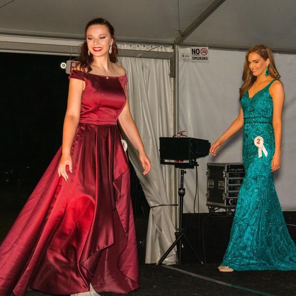 Evening Wear Contestants 1 & 2