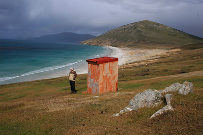 Outhouse with an Ocean View- Saunders Island
