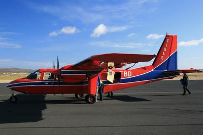 FIGAS Plane used to transport people betweeen islands.
