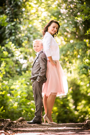 Mother & Son Photo