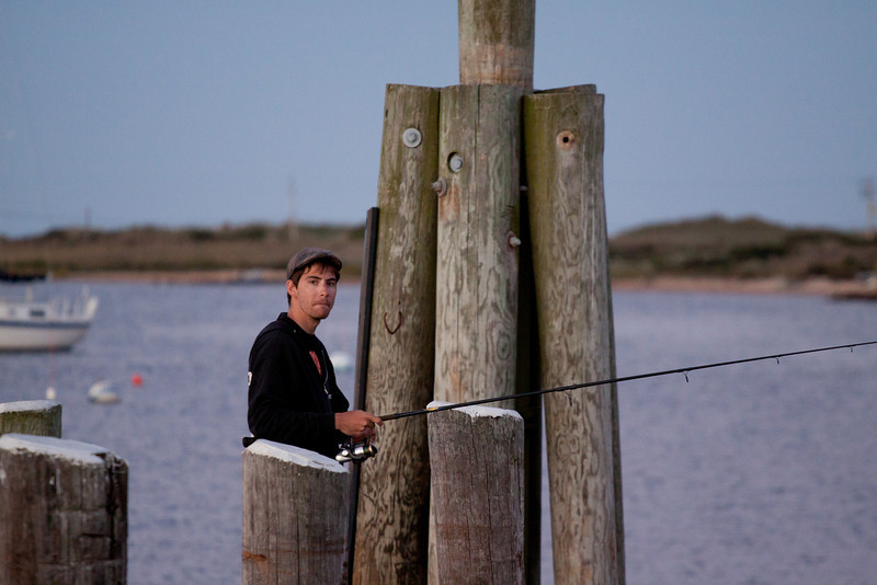 """""""Honestly, there were large stripers all over this place yesterday..."""""""