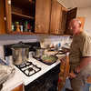 Rich preparing a great meal!