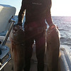 Dwight with a pair shot spear fishing. Photo from Ken