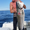 Kens ~50lb striped bass shot on Sunday. This one Ken the biggest fish of the trip once again.  It feed many people.