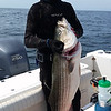 Dwight with biggest fish of the week