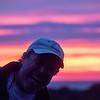 photo bomb sunset